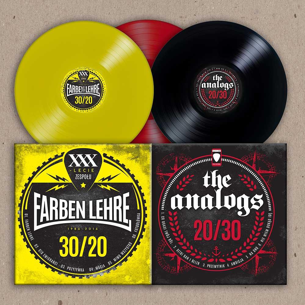 Vinyl Split FL / Analogs, w trzech kolorach, edycja limitowana